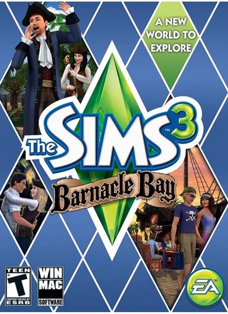 the sims 3 barnacle bay pc mac download official full game. Black Bedroom Furniture Sets. Home Design Ideas