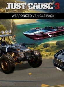 Just Cause 3: Weaponized Vehicle Pack PC Expansion
