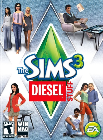 Sims 3 Diesel Stuff PC/Mac Download
