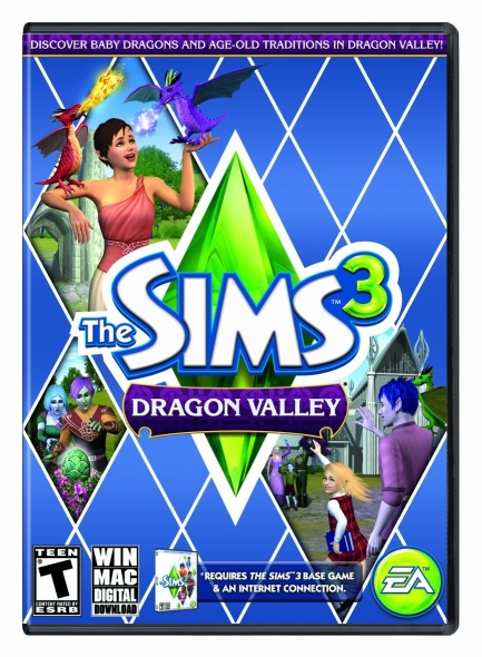 Sims 3 Dragon Valley PC/Mac Download