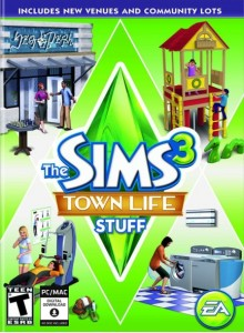 Sims 3 Town Life Stuff PC/Mac Download